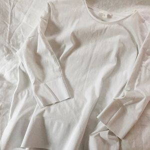 COS White Blouse